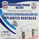 Curso de Especialización<br> de Implantes Dentales